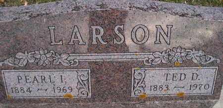 LARSON, TED D - Kingsbury County, South Dakota | TED D LARSON - South Dakota Gravestone Photos