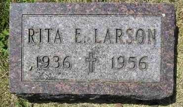 LARSON, RITA E. - Kingsbury County, South Dakota | RITA E. LARSON - South Dakota Gravestone Photos