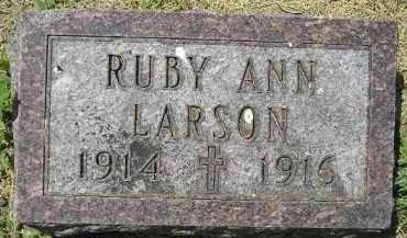 LARSON, RUBY ANN - Kingsbury County, South Dakota | RUBY ANN LARSON - South Dakota Gravestone Photos