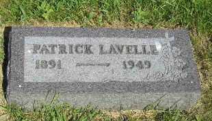 LAVELLE, PATRICK - Kingsbury County, South Dakota   PATRICK LAVELLE - South Dakota Gravestone Photos