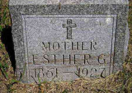 LEIFER, ESTHER G. - Kingsbury County, South Dakota | ESTHER G. LEIFER - South Dakota Gravestone Photos