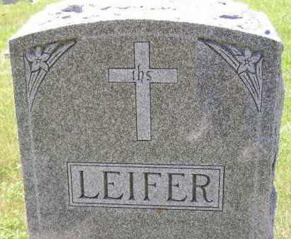 LEIFER, FAMILY STONE - Kingsbury County, South Dakota | FAMILY STONE LEIFER - South Dakota Gravestone Photos