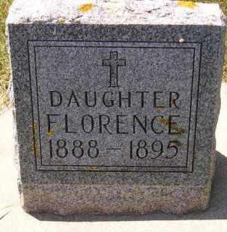 LEIFER, FLORENCE - Kingsbury County, South Dakota | FLORENCE LEIFER - South Dakota Gravestone Photos