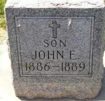 LEIFER, JOHN E. - Kingsbury County, South Dakota   JOHN E. LEIFER - South Dakota Gravestone Photos