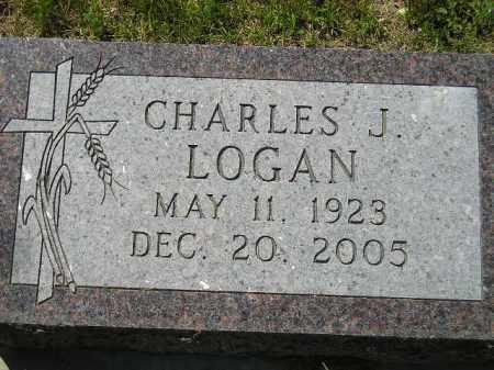 LOGAN, CHARLES J. - Kingsbury County, South Dakota | CHARLES J. LOGAN - South Dakota Gravestone Photos