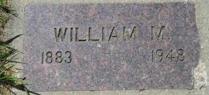 LOGAN, WILLIAM M. - Kingsbury County, South Dakota   WILLIAM M. LOGAN - South Dakota Gravestone Photos