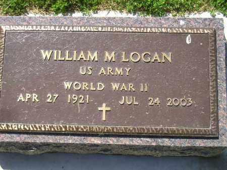 LOGAN, WILLIAM M. (WW II) - Kingsbury County, South Dakota | WILLIAM M. (WW II) LOGAN - South Dakota Gravestone Photos