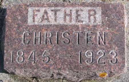 MADSEN, CHRISTEN - Kingsbury County, South Dakota   CHRISTEN MADSEN - South Dakota Gravestone Photos