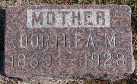 MADSEN, DORTHEA M. - Kingsbury County, South Dakota | DORTHEA M. MADSEN - South Dakota Gravestone Photos