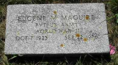 MAGUIRE, EUGENE M. (WW II) - Kingsbury County, South Dakota | EUGENE M. (WW II) MAGUIRE - South Dakota Gravestone Photos