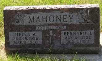 MAHONEY, BERNARD J. - Kingsbury County, South Dakota | BERNARD J. MAHONEY - South Dakota Gravestone Photos