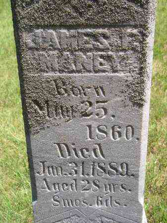 MANEY, JAMES F. - Kingsbury County, South Dakota | JAMES F. MANEY - South Dakota Gravestone Photos