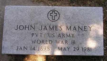 MANEY, JOHN JAMES - Kingsbury County, South Dakota   JOHN JAMES MANEY - South Dakota Gravestone Photos
