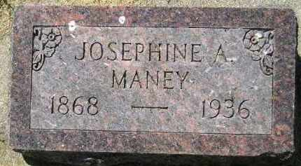 MANEY, JOSEPHINE A. - Kingsbury County, South Dakota | JOSEPHINE A. MANEY - South Dakota Gravestone Photos