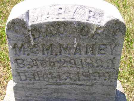 MANEY, MARY R. - Kingsbury County, South Dakota | MARY R. MANEY - South Dakota Gravestone Photos