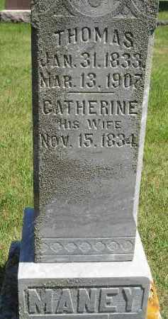 MANEY, CATHERINE - Kingsbury County, South Dakota | CATHERINE MANEY - South Dakota Gravestone Photos