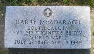MCADARAGH, HARRY - Kingsbury County, South Dakota | HARRY MCADARAGH - South Dakota Gravestone Photos