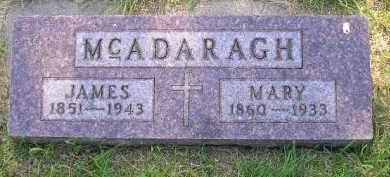 MCADARAGH, JAMES - Kingsbury County, South Dakota | JAMES MCADARAGH - South Dakota Gravestone Photos
