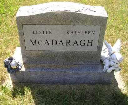 MCADARAGH, KATHLEEN - Kingsbury County, South Dakota | KATHLEEN MCADARAGH - South Dakota Gravestone Photos