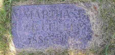 MCCULLEY, MARTHA E. - Kingsbury County, South Dakota | MARTHA E. MCCULLEY - South Dakota Gravestone Photos