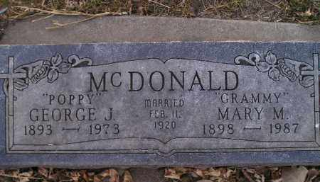 MCDONALD, MARY M - Kingsbury County, South Dakota | MARY M MCDONALD - South Dakota Gravestone Photos