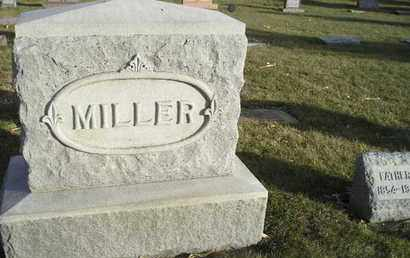 MILLER, FAMILY STONE - Kingsbury County, South Dakota   FAMILY STONE MILLER - South Dakota Gravestone Photos