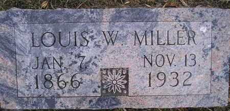 MILLER, LOUIS W - Kingsbury County, South Dakota   LOUIS W MILLER - South Dakota Gravestone Photos