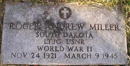 MILLER, ROGER ANDREW - Kingsbury County, South Dakota | ROGER ANDREW MILLER - South Dakota Gravestone Photos