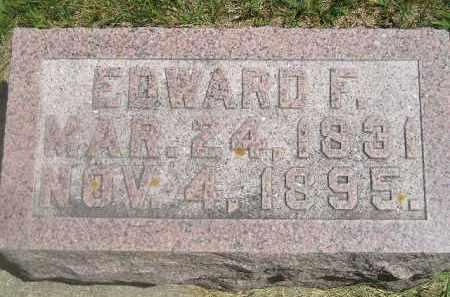 MULLEN, EDWARD F. - Kingsbury County, South Dakota | EDWARD F. MULLEN - South Dakota Gravestone Photos
