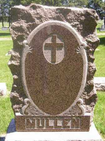 MULLEN, FAMILY STONE - Kingsbury County, South Dakota | FAMILY STONE MULLEN - South Dakota Gravestone Photos
