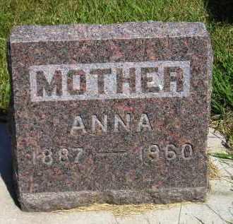 MULLIGAN, ANNA - Kingsbury County, South Dakota | ANNA MULLIGAN - South Dakota Gravestone Photos