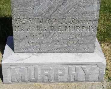 MURPHY, BERNARD D. - Kingsbury County, South Dakota | BERNARD D. MURPHY - South Dakota Gravestone Photos