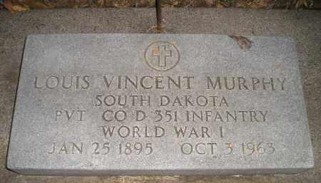 MURPHY, LOUIS VINCENT - Kingsbury County, South Dakota | LOUIS VINCENT MURPHY - South Dakota Gravestone Photos