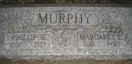 MURPHY, PHILIP E - Kingsbury County, South Dakota | PHILIP E MURPHY - South Dakota Gravestone Photos