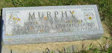 MURPHY, SADIE SARAH - Kingsbury County, South Dakota | SADIE SARAH MURPHY - South Dakota Gravestone Photos