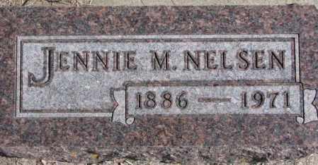 NELSEN, JENNIE M. - Kingsbury County, South Dakota | JENNIE M. NELSEN - South Dakota Gravestone Photos