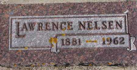 NELSEN, LAWRENCE - Kingsbury County, South Dakota | LAWRENCE NELSEN - South Dakota Gravestone Photos