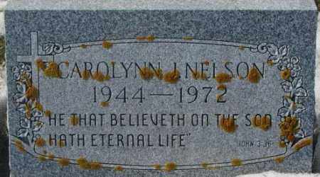NELSON, CAROLYNN J. - Kingsbury County, South Dakota | CAROLYNN J. NELSON - South Dakota Gravestone Photos