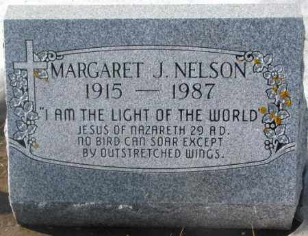 NELSON, MARGARET J. - Kingsbury County, South Dakota | MARGARET J. NELSON - South Dakota Gravestone Photos