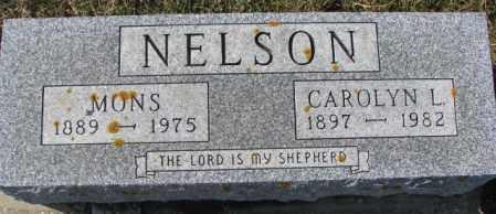 NELSON, CAROLYN L. - Kingsbury County, South Dakota | CAROLYN L. NELSON - South Dakota Gravestone Photos