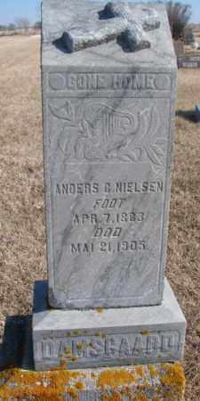 NIELSEN (DAMSGAARD), ANDERS - Kingsbury County, South Dakota | ANDERS NIELSEN (DAMSGAARD) - South Dakota Gravestone Photos