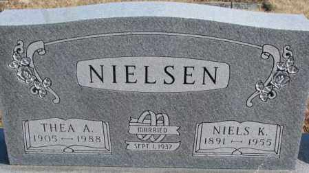 NIELSEN, NIELS K. - Kingsbury County, South Dakota | NIELS K. NIELSEN - South Dakota Gravestone Photos