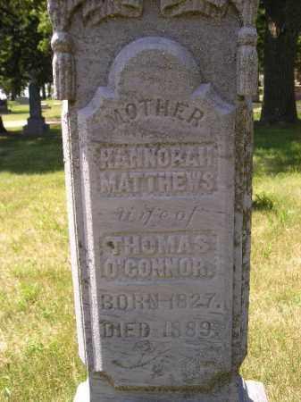 O'CONNOR, HANNORAH - Kingsbury County, South Dakota   HANNORAH O'CONNOR - South Dakota Gravestone Photos