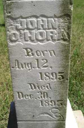 O'HORA, JOHN - Kingsbury County, South Dakota   JOHN O'HORA - South Dakota Gravestone Photos