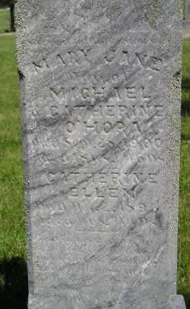 O'HORA, MARY JANE - Kingsbury County, South Dakota | MARY JANE O'HORA - South Dakota Gravestone Photos