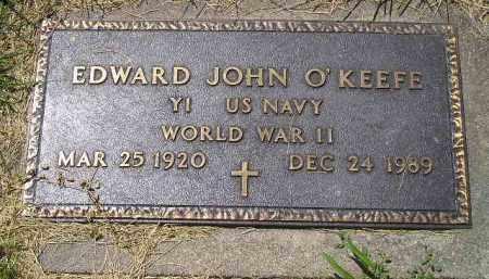 O'KEEFE, EDWARD JOHN - Kingsbury County, South Dakota   EDWARD JOHN O'KEEFE - South Dakota Gravestone Photos