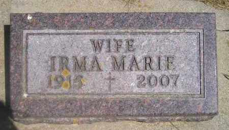 O'KEEFE, IRMA MARIE - Kingsbury County, South Dakota | IRMA MARIE O'KEEFE - South Dakota Gravestone Photos