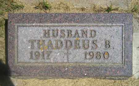 O'KEEFE, THADDEUS B. - Kingsbury County, South Dakota | THADDEUS B. O'KEEFE - South Dakota Gravestone Photos