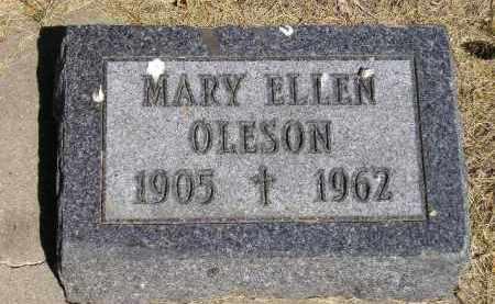 OLESON, MARY ELLEN - Kingsbury County, South Dakota   MARY ELLEN OLESON - South Dakota Gravestone Photos