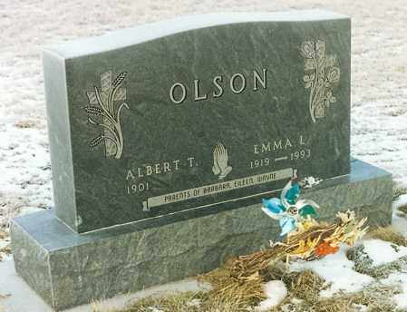 OLSON, EMMA LOUISE - Kingsbury County, South Dakota   EMMA LOUISE OLSON - South Dakota Gravestone Photos